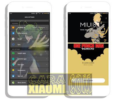 Link Download Tema Xiaomi Miui Anime One Punch Man Mtz by Sahydin Fauzi Nugraha