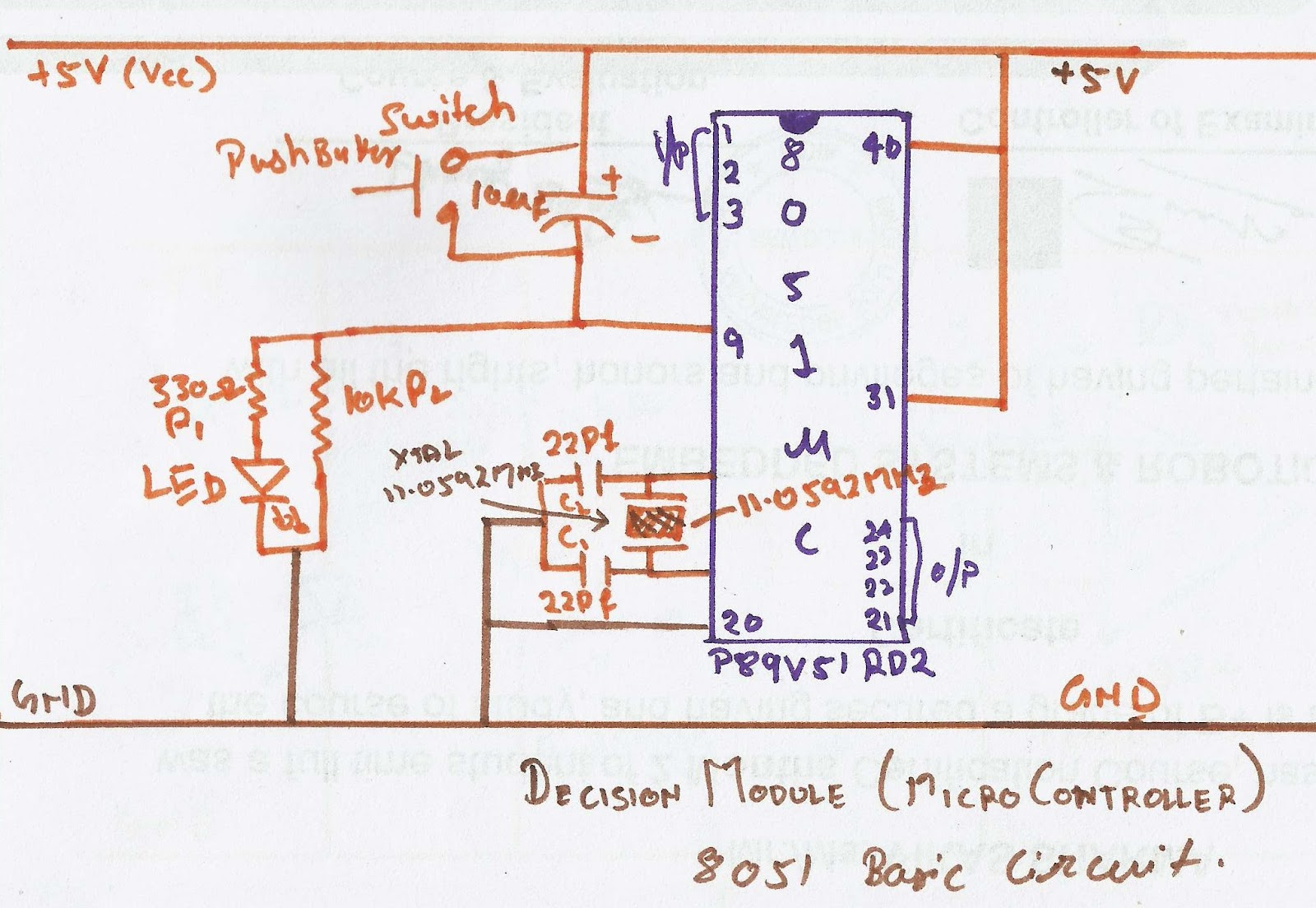 August 2012 2embeddedrobotics Ir Receiver Circuit Diagram 8051 Micro Controller