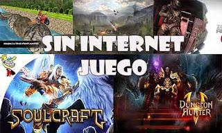 Descarga estos juegos que no requieren Internet para jugarlos