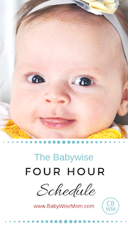 The Babywise Four Schedule | feeding baby | four hour feeding schedule | 4 hour schedule | #babywise #babyschedule