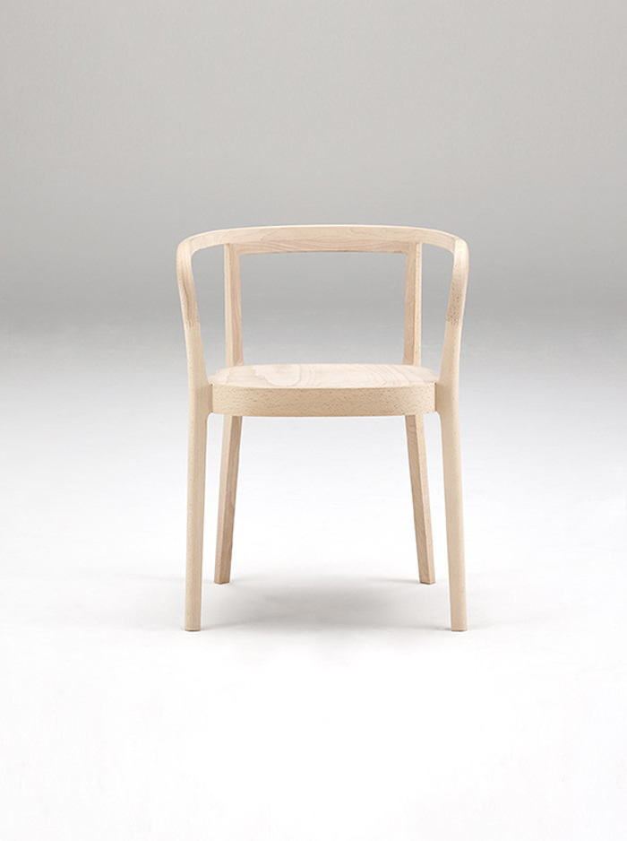 Cecilie Manz chair design for Actus Store , collaboration called Moku