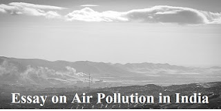 Essay on Air Pollution in India