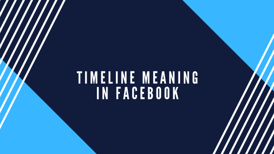 What Is My Timeline On Facebook<br/>