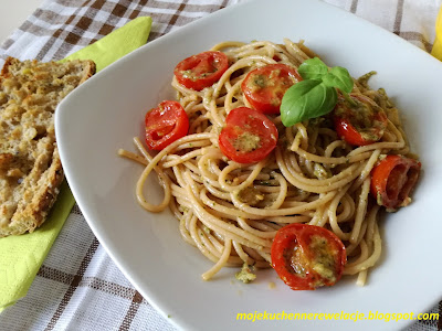 razowe spaghetti