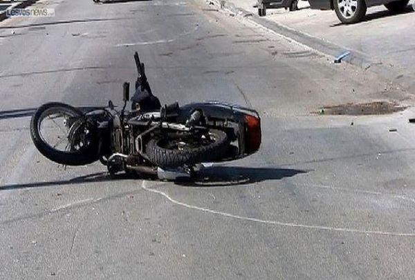 Τροχαίο ατύχημα για ντελιβερά Σάββατο βράδυ στη Λάρισα