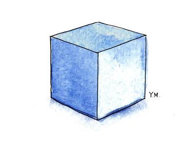 Cube by Yukié Matsushita