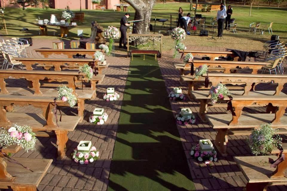 cerimônia - casamento ao ar livre - casamento de dia - altar - decoração - vale verde betim