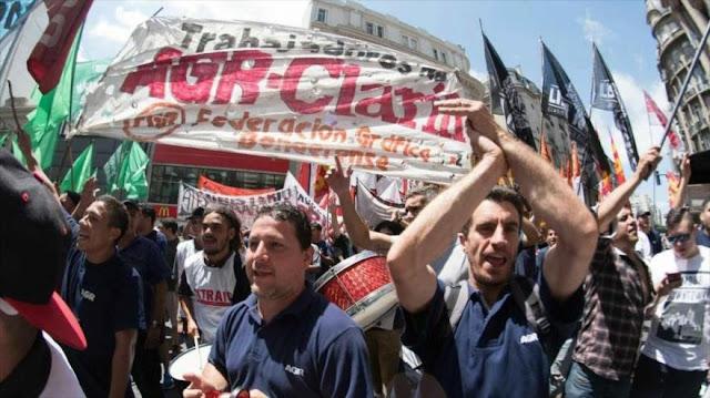 Gobierno de Macri no escucha voz de trabajadores sobre despidos