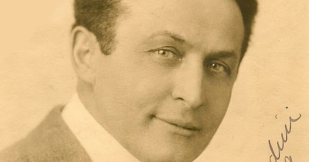WILD ABOUT HARRY: Houdini in 1919