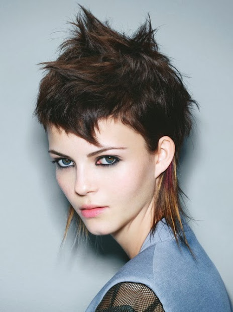 short punk hairstyles teenagers