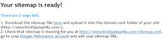 Blog ke liye xml sitemap kaise banaye