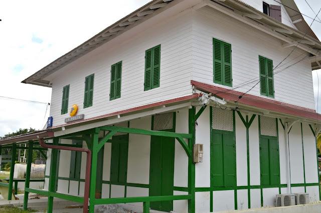 Guyane, Montsinery, écomusée, fleuve