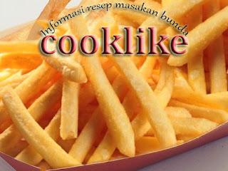 Resep Cara Membuat Kentang Goreng French Fries
