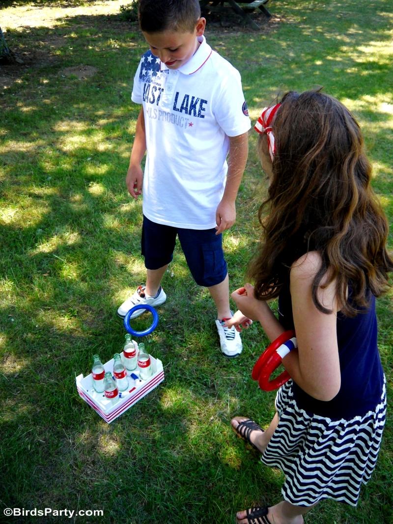 4th of July Garden Picnic Party Ideas - BirdsParty.com