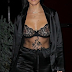 KOURTNEY KARDASHIAN in LA PERLA