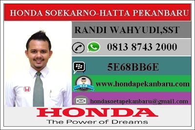 Harga Mobil Honda BRV Pekanbaru Riau