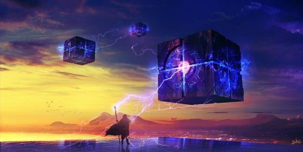 Shahab Alizadeh deviantart ilustrações fantasia ficção científica