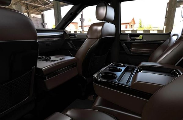 Elektrikli Pick-up Atlis XT İç Görünüm - 2