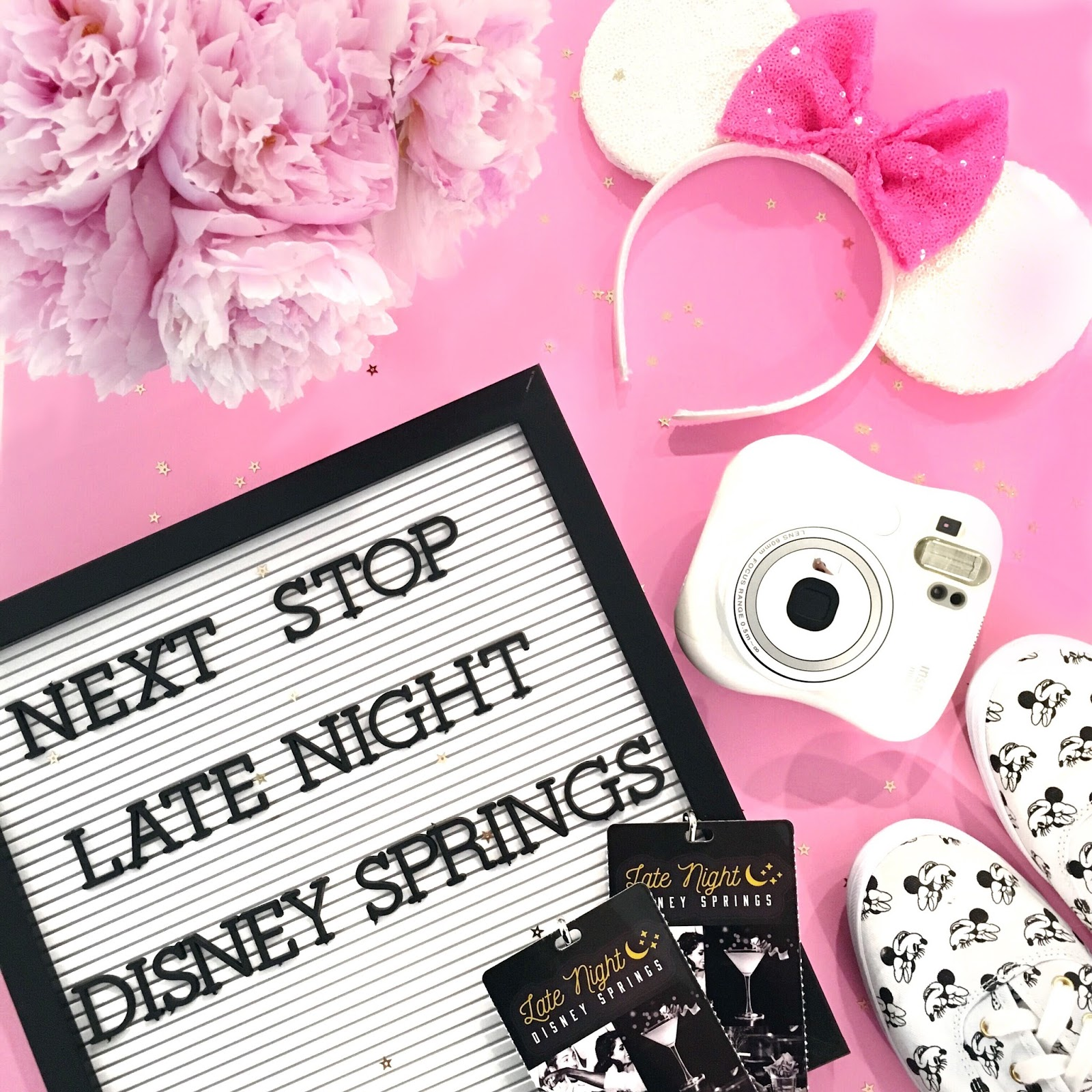 Late Night Disney Springs by popular Florida blogger The Celebration Stylist