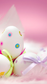 Happy Easter Wallpapers for iPhone & Android; Easter Background 2018