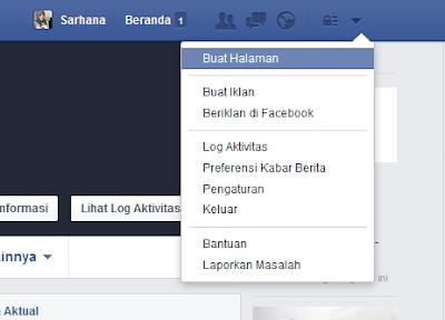 manfaat, cara membuat akun Fanspage Facebook
