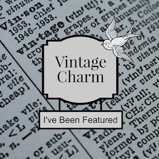 Vintage Charm 12 mythriftstoreaddiction.blogspot.com Feature button