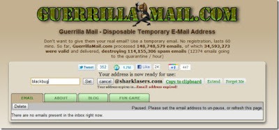 Temporary email address - Tricks by R@jdeep