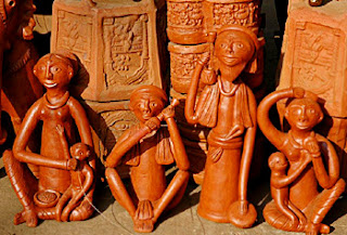 teracotta wall art, west bengal ,clay, Indian art