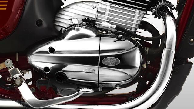 New 2019 Jawa 300 engine image