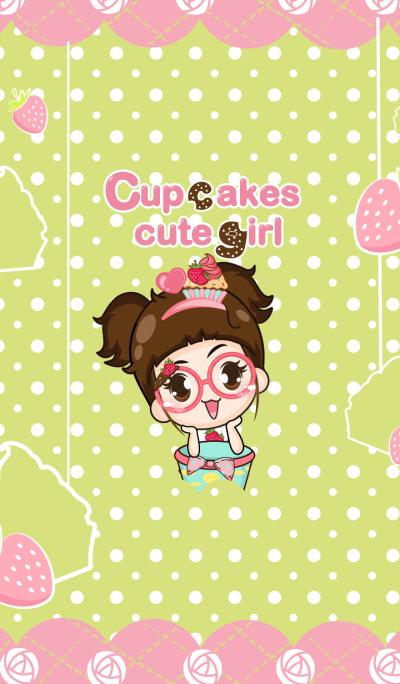 Cupcakes cute girl