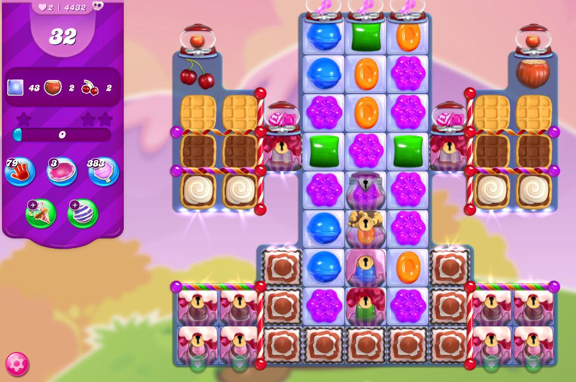 Candy Crush Saga level 4432
