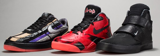 finest selection 8ad9d 692eb These three qualities take center stage on Nike s Flystepper 2K3, Air Up   14, and Air Force 1 Low ...