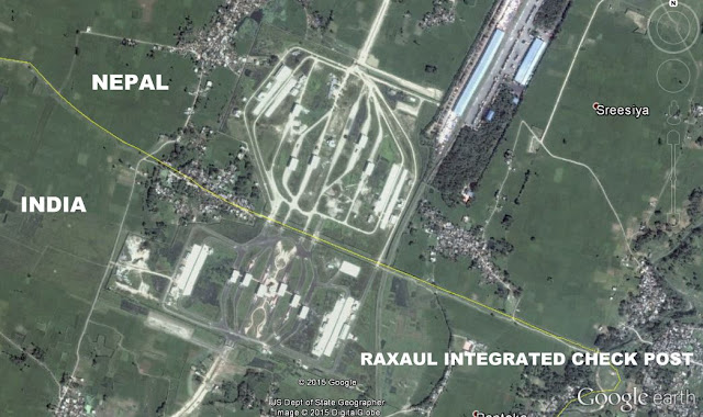 Image Attribute: Work in Progress at Raxaul ICP near India - Nepal Border