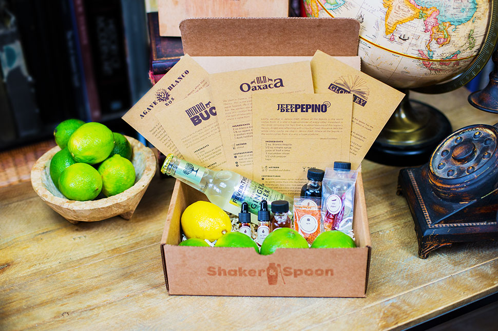Shaker and Spoon A New Epic Subscription Box For The Imbiber