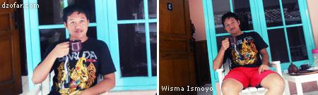 Narsis dulu di hotel wisma Ismoyo Jogjakarta