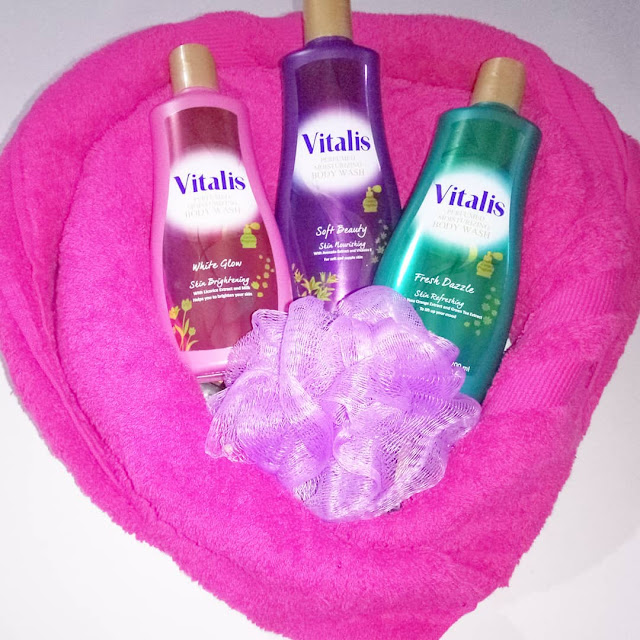 Varian Vitalis perfumed moisturizing body wash