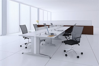 Open Concept Benching System for Group Collaborating