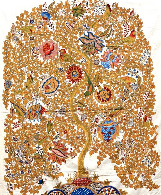 Pure Ghee Designs : Kalamkari paintings for Samode Safari ...