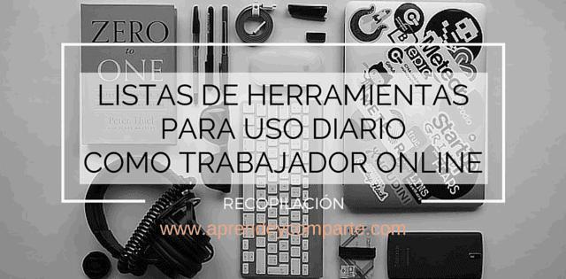 herramientas para tu trabajo online