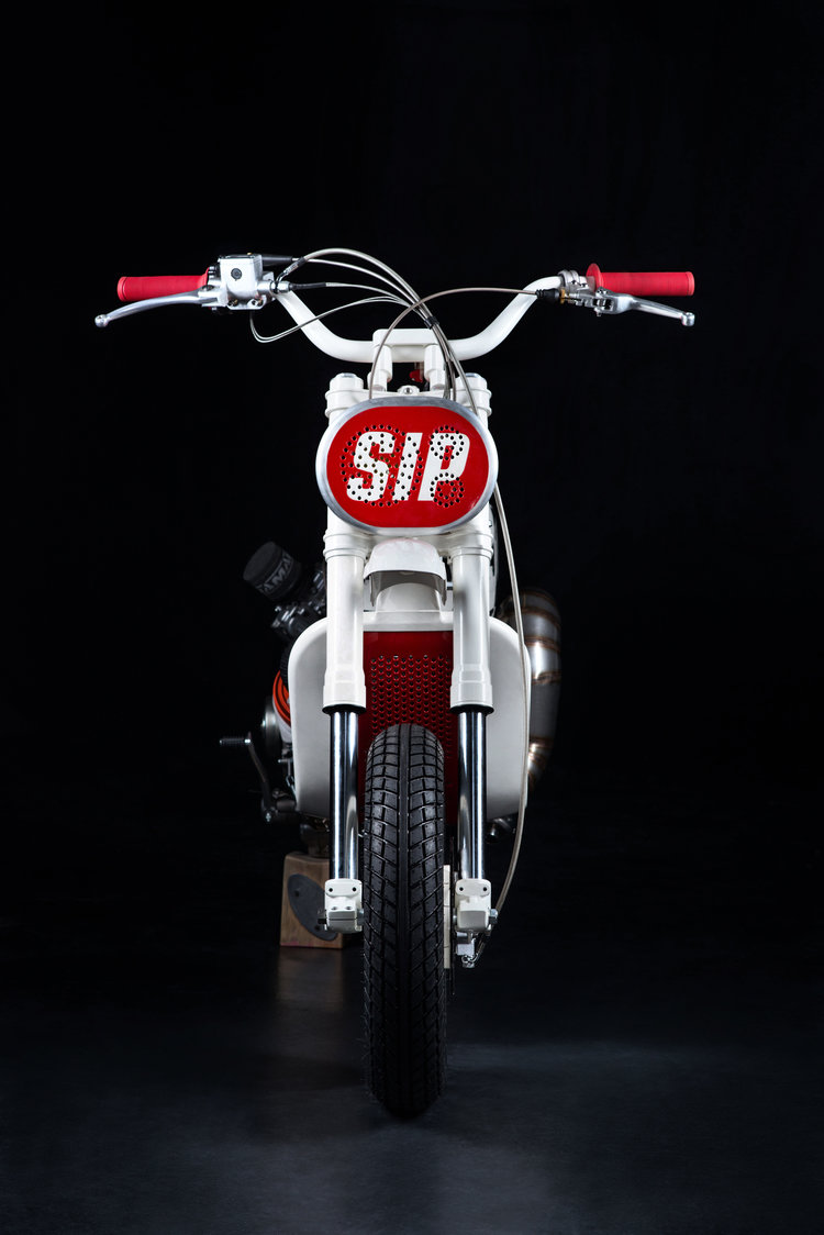 Sip project scrambler butcher garage rocketgarage for Sip garage kits