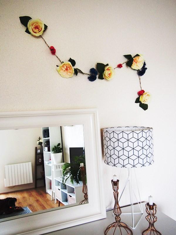 DIY : guirlande de fleurs