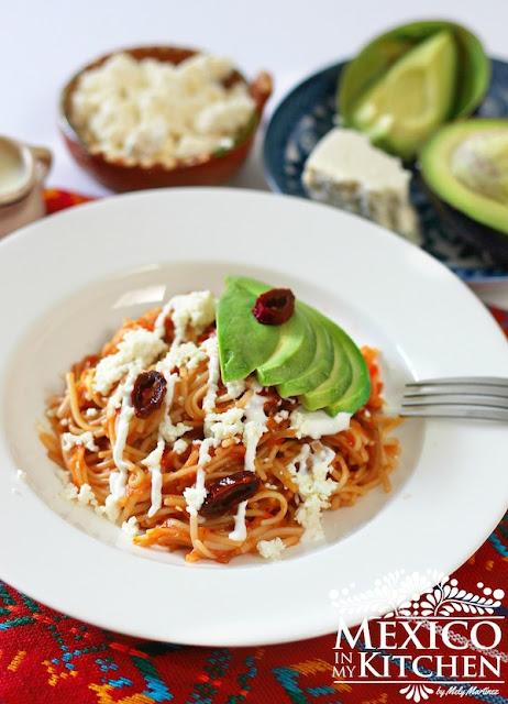 sopa seca de fideos recipe mexican fideos secos