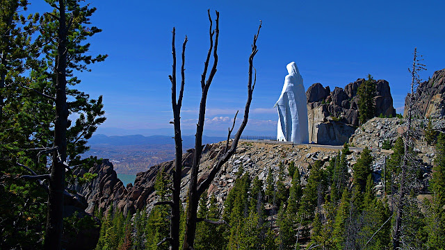 Our Lady of the Rockies on the Continental Divide...