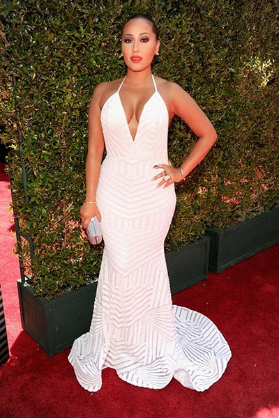 adrienne bailon bet awards billboard 2014 400x600 Red Carpet photos from 2014 BET Awards + Full List of Winners
