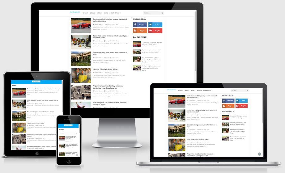 Chia sẻ template blogspot Simple V2 chỉnh sửa và tuỳ biến bởi Star Template VN