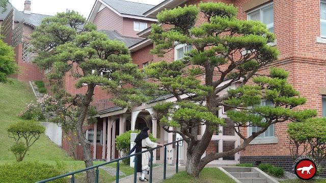 Moine japonais dans un monastère