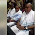 BIAFRA: IPOB Members Storm Abuja Court In Jewish Apparels Ahead Of Kanu's Trial [PHOTOS]