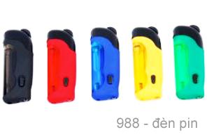 Mẫu Bật lửa, Quẹt 988 đèn pin