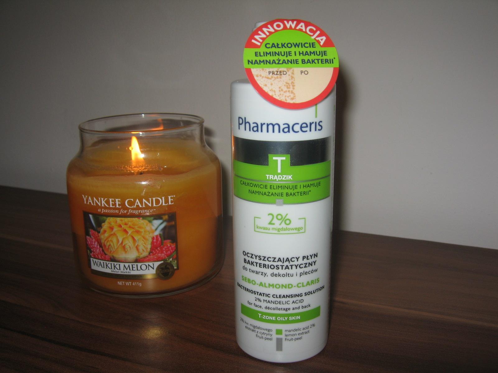 Pharmaceris, oczyszczający płyn bakteriostatyczny do twarzy, dekoltu i pleców 2% kwasu migdałowego