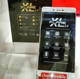 Cherry Mobile Flare XL 2 Now Available, 6-inch Octa Core Marshmallow Phablet with LTE
